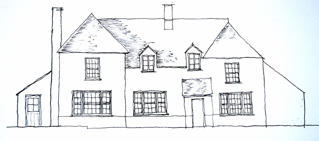 Sketch of extension to public house