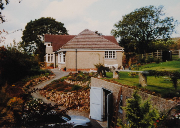 Green roof extension & garage