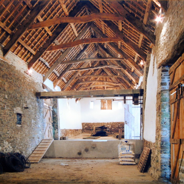 Tithe barn repair